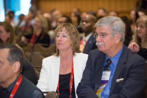 John Lentini observes the activities of the 2015 Plenary Session.