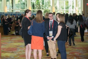 Meeting attendees are able to network at the AAFS Annual Meeting.