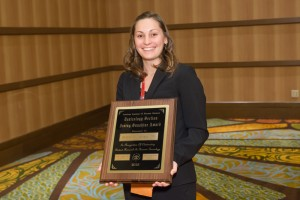 2015 Toxicology Section Award Winner: Jillian Yeakel - Irving Sunshine Award.