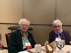 Toxicology Section Retired Fellow and AAFS Past President Professor Kurt M. Dubowski, PhD, and Natalie A. Essary, CLS at the 2016 Toxicology Section Luncheon in Las Vegas, NV.