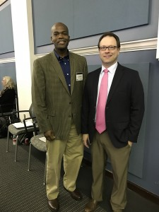 Ken Williams and AAFS Member, Jeremy Triplett